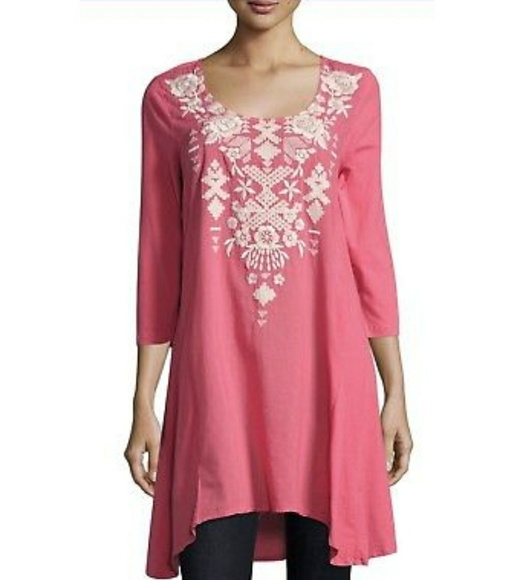 08072a77bb7be NWT Johnny Was JWLA embroidered tunic